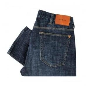Paul Smith Midwash Tapered Denim Jeans JMFJ-301M-602