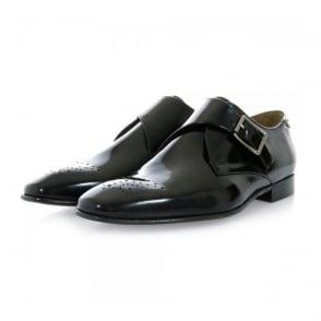 Paul Smith Wren Black High Shine Leather Shoe SMXD-M205-HSH