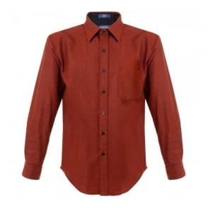 Pendleton fitted Lodge Baked Red Shirt AA031-28116-R