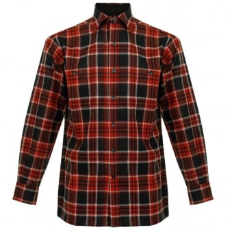 Pendleton Game Day Red Wool Check Shirt AA086-31766-R