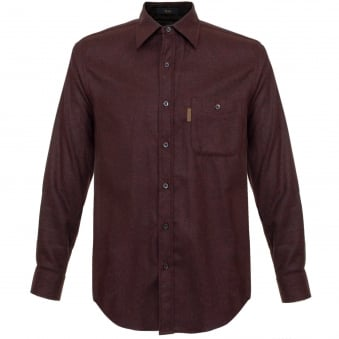 Pendleton Trail Burgundy Wool Shirt AA062-28328
