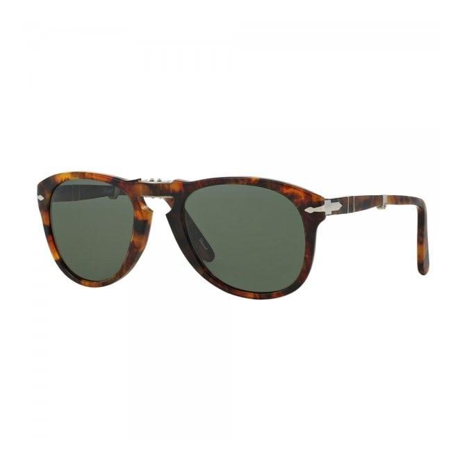 dd5f5752a065 Persol 714 Caffe Light Tortoise Foldable Sunglasses PO0714 108/58