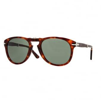 Persol 714 Havana Tortoise Foldable Sunglasses 0PO0714 24/31