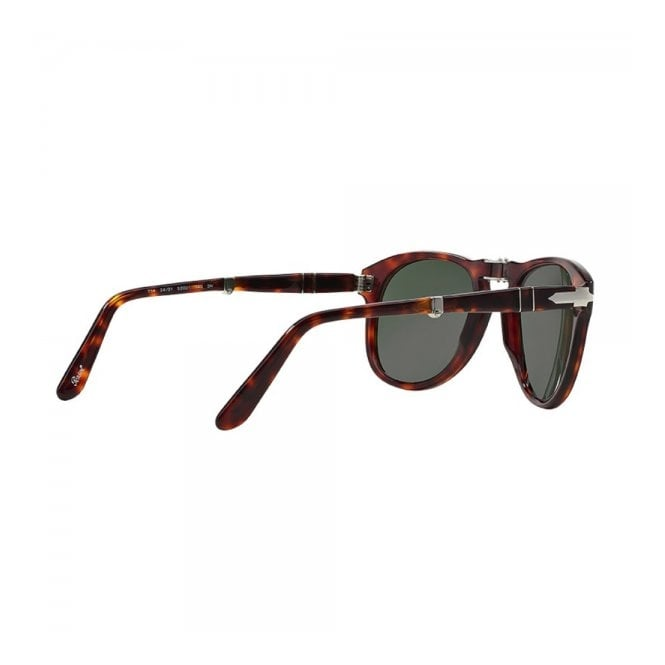 9b36e721af Persol 714 Havana Tortoise Foldable Sunglasses 0PO0714 24 31