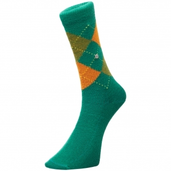 Green & Orange Preston Socks