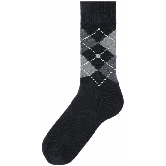 Black Preston Socks