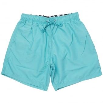 Boardies® Cyan Blue Swim Shorts BS82M