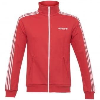 Beckenbauer Track Top - Vivid Red
