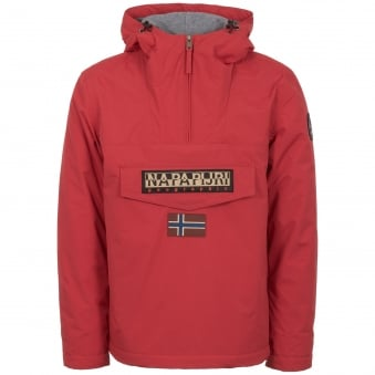 Red Rainforest Winter Jacket