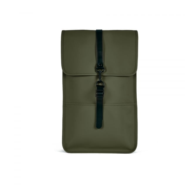 Rains Green Backpack 1220