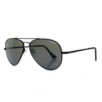 Randolph Concorde Matte Black Sunglasses CR72411