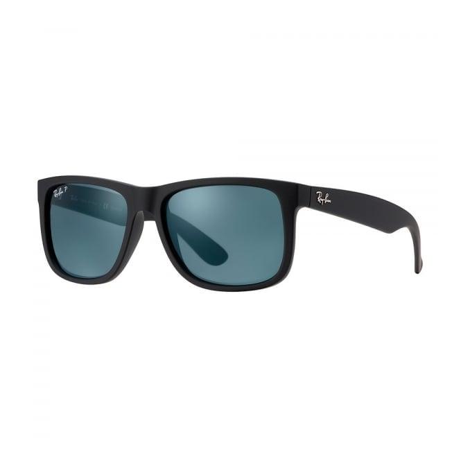 Ray Ban Ray-Ban Justin Classic Polarized Black Sunglasses RB4165 622/2V