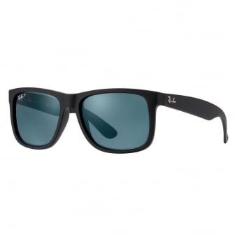 Ray-Ban Justin Classic Polarized Black Sunglasses RB4165 622/2V