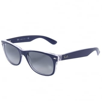 Ray Ban New Wayfarer Colour Mix Blue Sunglasses 0RB2132-605371