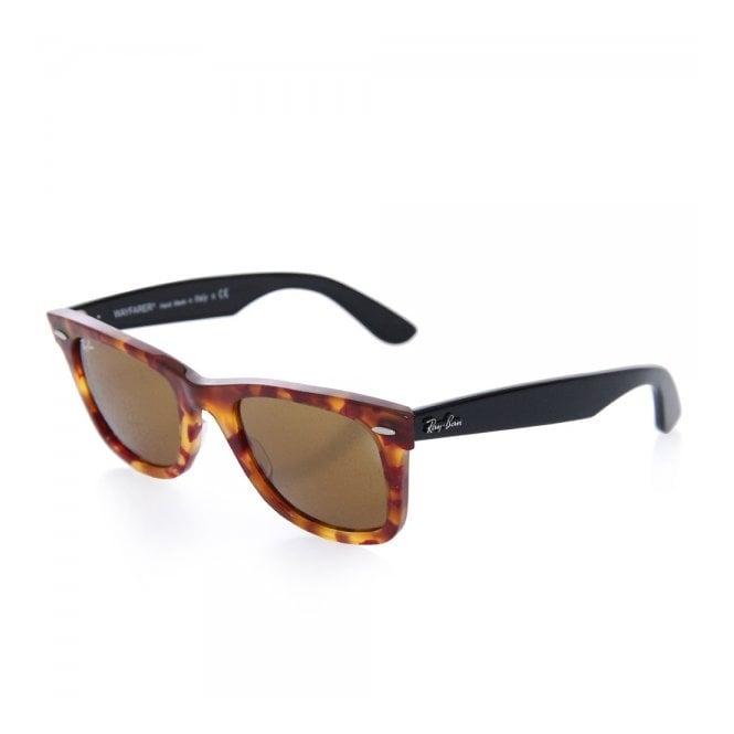 f2860241d214c Tortoise Original Wayfarer Fleck Sunglasses - Classic Brown Lenses