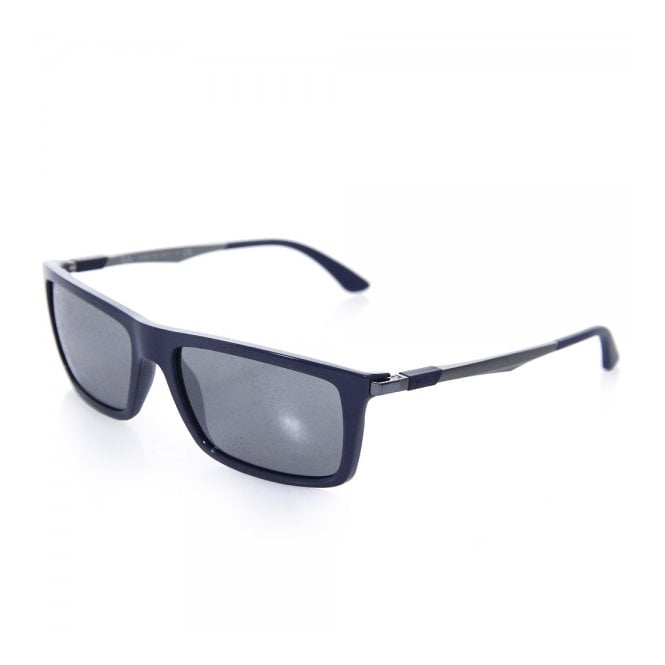 Ray Ban RB4214 Navy Sunglasses 0RB4214-61296G