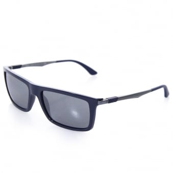 Ray Ban RB4214 Navy Sunglasses 0RB4214-61296G