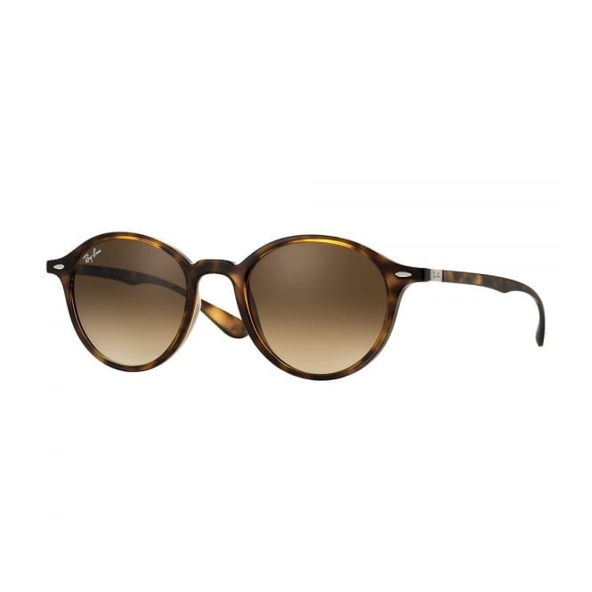 Ray Ban Ray-Ban Round Liteforce Tortoise Sunglasses RB4237 710/85
