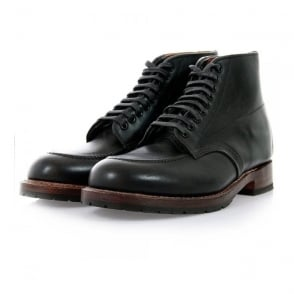 Red Wing Beckman Moc Black Leather Boot 9029