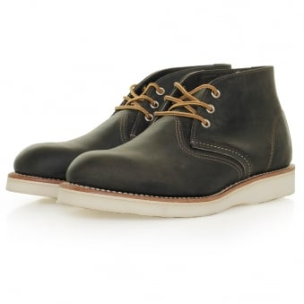 Red Wing Classic Chukka Charcoal Leather Boot 3150