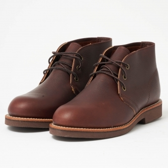 Red Wing Foreman Chukka Briar Brown Boot 09215