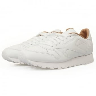 Reebok Classic Leather White Shoes V68808