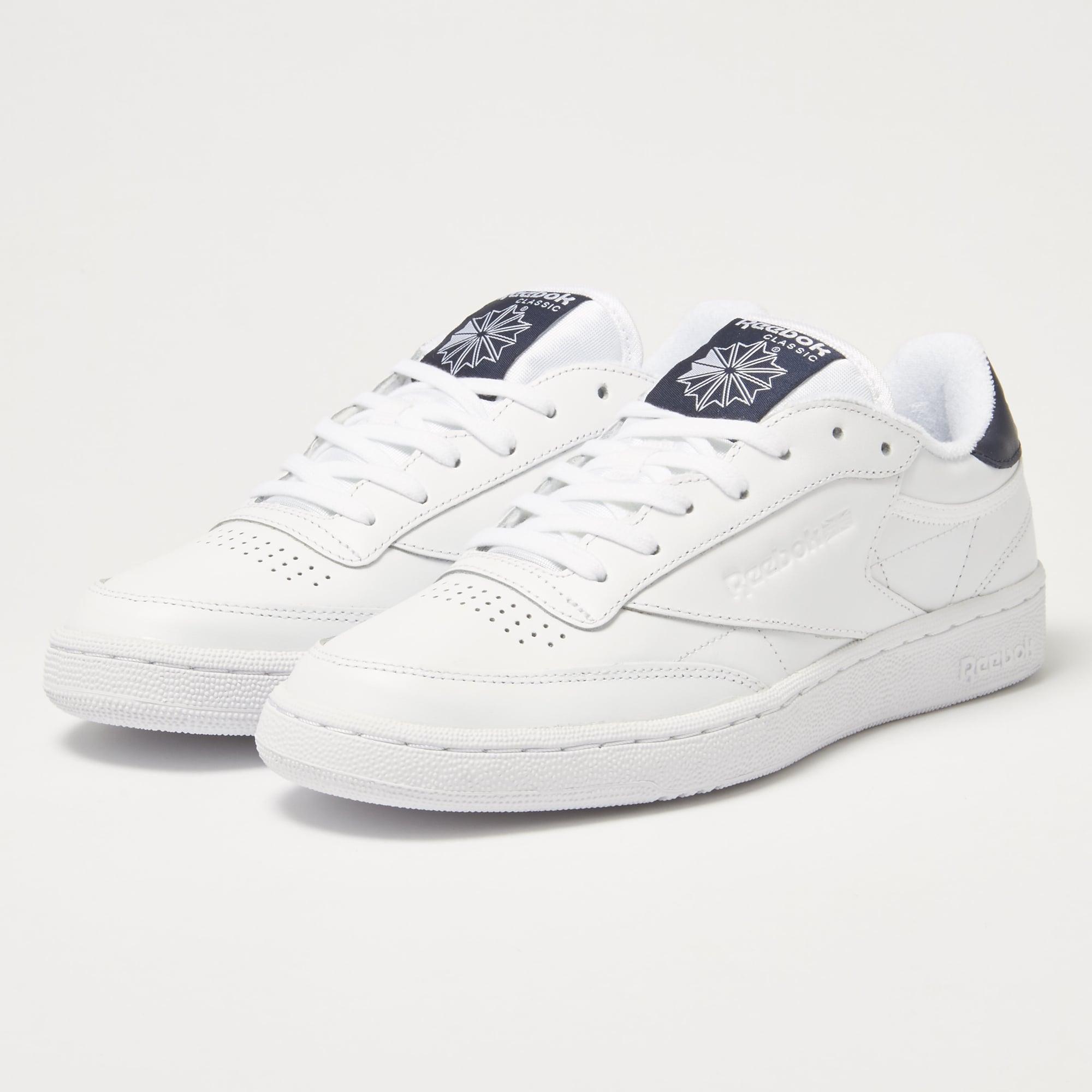 reebok uk shop club c85 el white sneakers bd5688. Black Bedroom Furniture Sets. Home Design Ideas