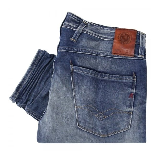 Replay Jeans Replay Anbass Light Wash Denim Jeans M91464