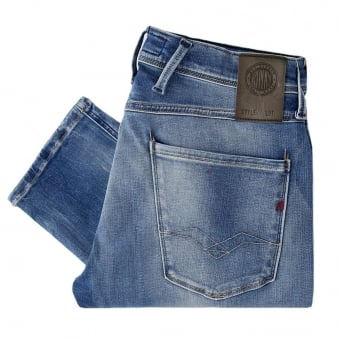 Replay Jeans Hyperflex Anbass Light Wash Jeans M914 661555