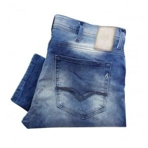 Replay Jeans Replay Jondrill Skinny Fit blue wash ma931f000