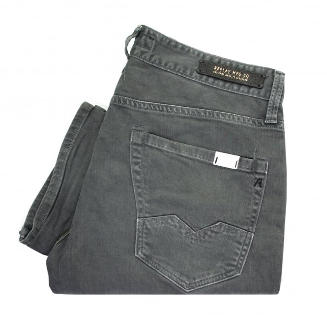Replay Jeans Replay Waitom Bottle Green Denim Jeans M983-000