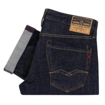 Replay Waitom Indigo Denim Jeans 11807D007