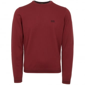 Dark Red Rime Jumper