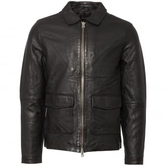 Black Rolfe Leather Jacket