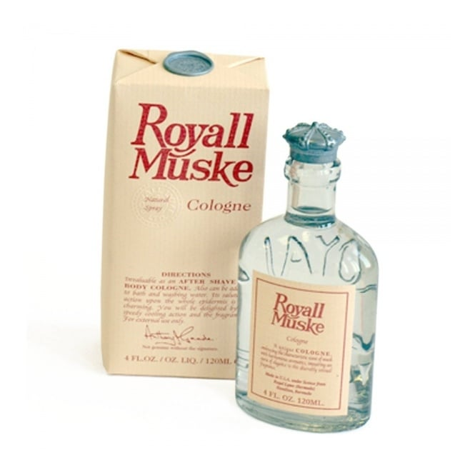 Royall Lyme Bermuda Royall Muske Cologne Natural Spray 120ML