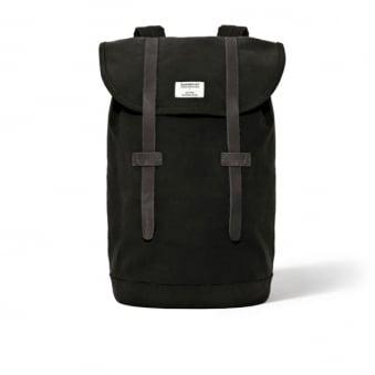 Sandqvist Stig Black Canvas Bag SQA181