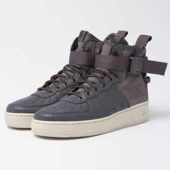 SF Air Force 1 Mid - Dark Grey