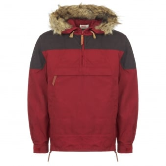 Red Singi Anorak