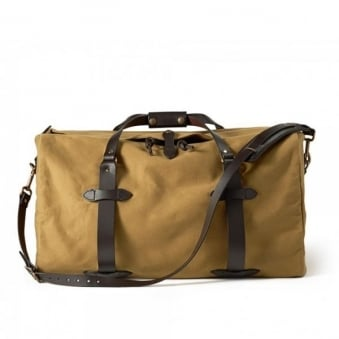 Small Duffle Bag - Tan