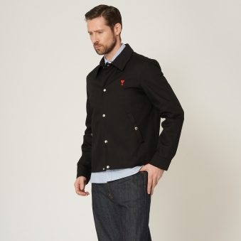 Black Snap Button Jacket