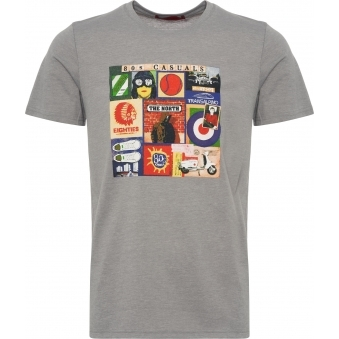 2a62ee19c988 Grey Sources of 80 s Casuals T-Shirt