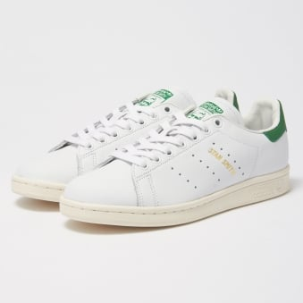 White & Green Stan Smith Trainers