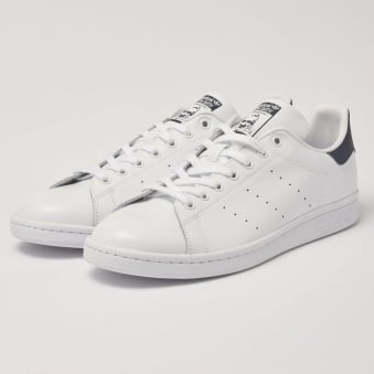 Adidas Stan Smiths White|Navy Sneakers M20325
