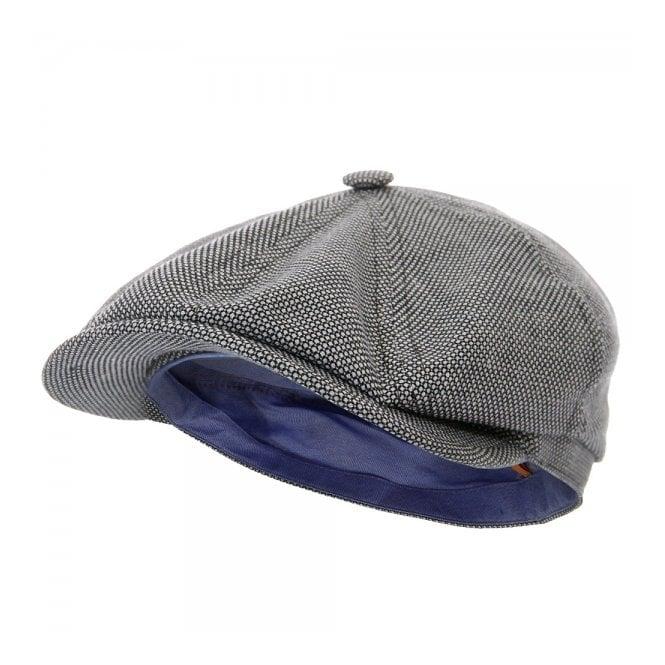 Stetson Headwear Stetson Fairbank WV/LI Blue Flat Cap 6870801-17