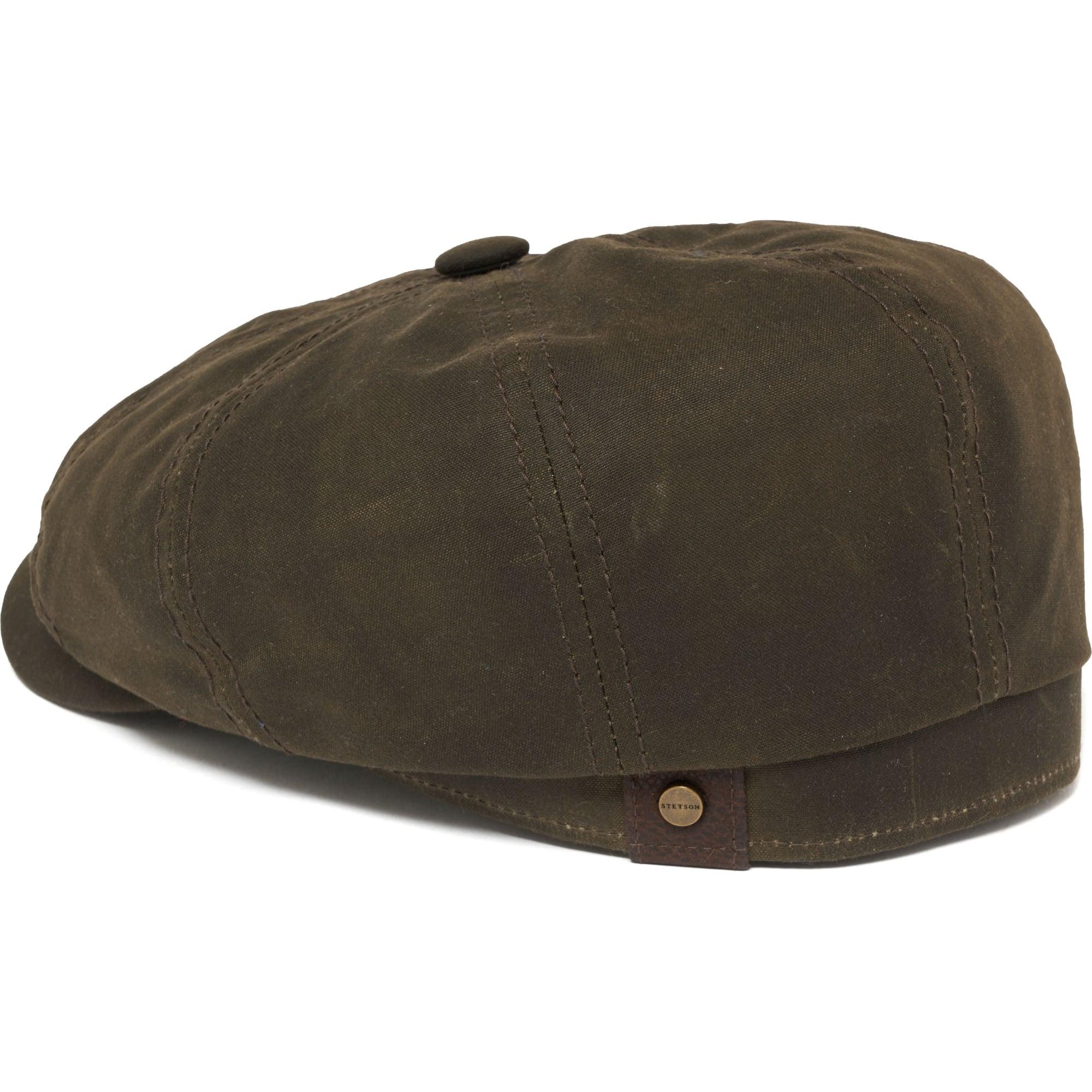 9f9827e840d3f Stetson Headwear Hatteras Waxed Newsboy Cap