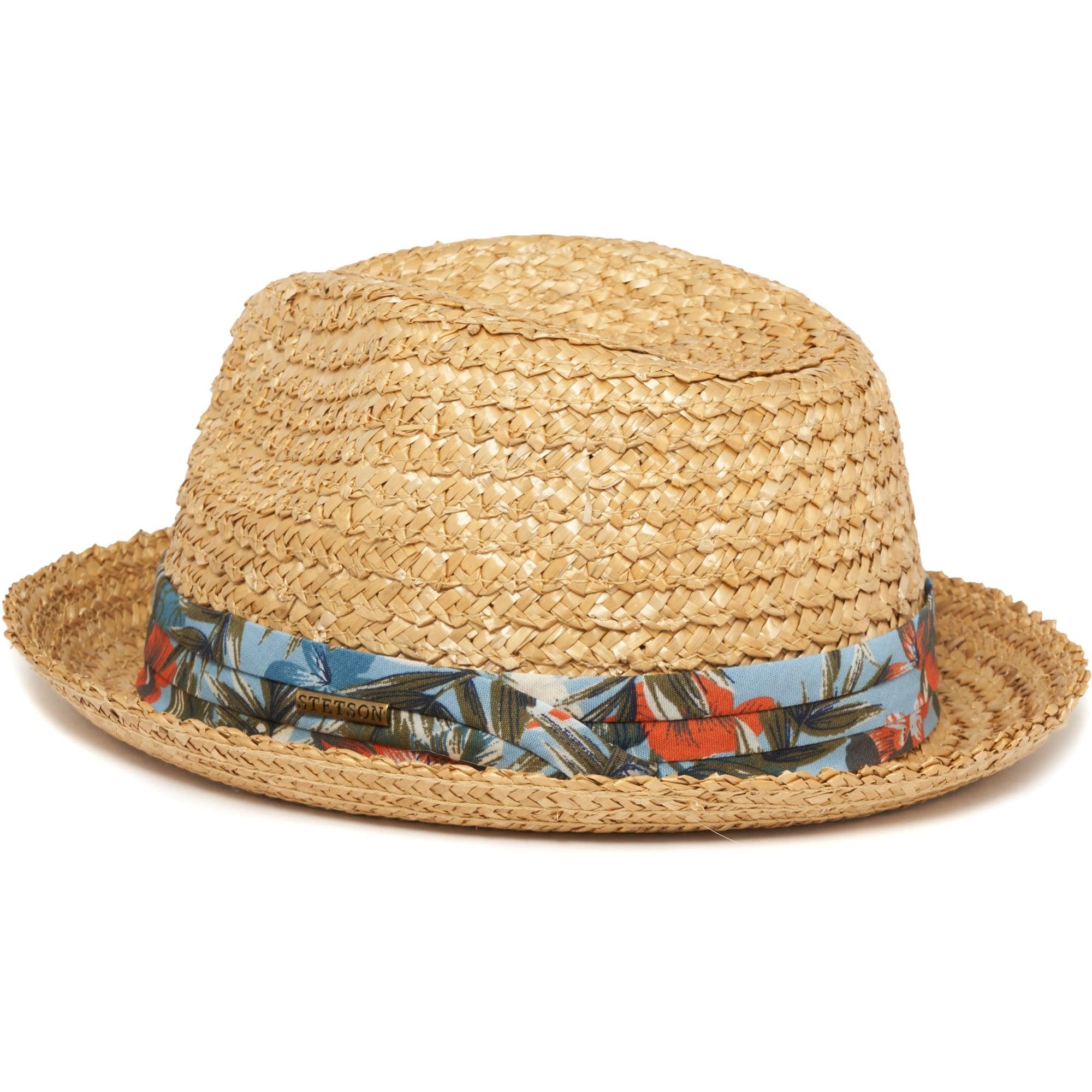 465816d53d1 Stetson Wheat Player Vintage Straw Fedora Hat   Dandy Fellow