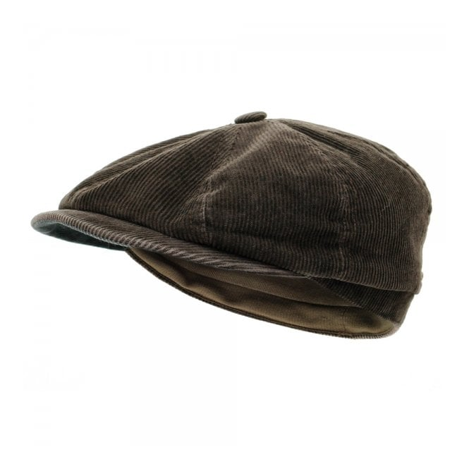 Stetson Headwear Stetson Hatteras Corduroy Ear Flap Flat Cap 6841118 6