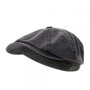 Stetson Hatteras Delave Organic Cotton Ash Grey Hat 6841106-2