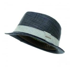Stetson Streator Raffia Navy Hat 123852921