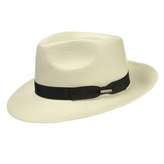 Stetson Telida Toyo Tan Fedora Hat 2128503